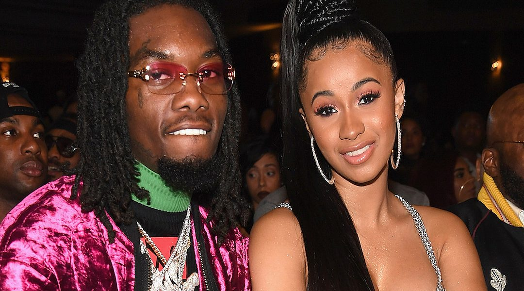 Offset Gets Cardi B Tattoo Is Inked Name An Effort To: Rapper Offset Tattoos Cardi B's Name On His Neck