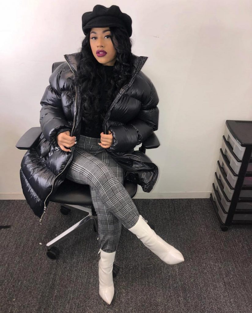 Rapper Cardi B Becomes Third Artist In History With First 3