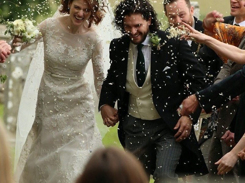 Game Of Thrones Stars Kit Harington Rose Leslie Are Married